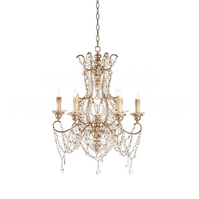 Grace Candle-Style Chandelier