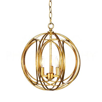 Allagash Orb Candle-Style Chandelier
