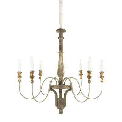 Molines 6-Light Candle-Style Chandelier