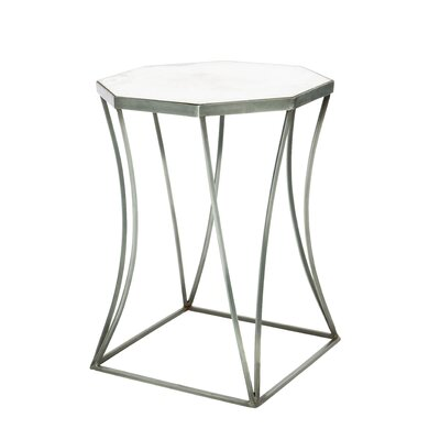 Cuadrado End Table Table Base Color: Bare Steel