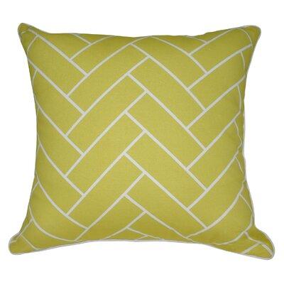 Geometric I Cotton Throw Pillow