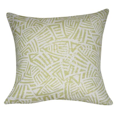 Aztec Decorative Throw Pillow Color: Green
