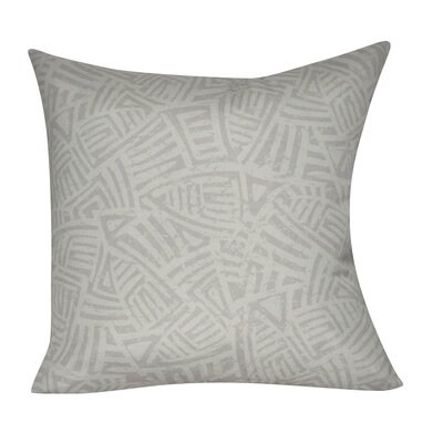 Aztec Decorative Throw Pillow Color: Gray