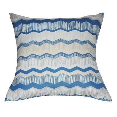 Chervon Decorative II Throw Pillow Color: Taupe