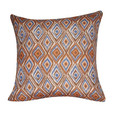 Park Avenue Throw Pillow Color: Brown