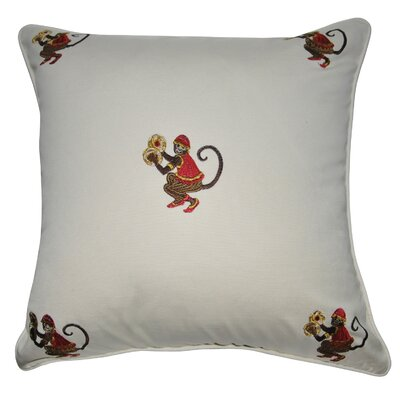 Decorative Cotton Throw Pillow Color: Cream, Orange, Yellow, Sage and Gold