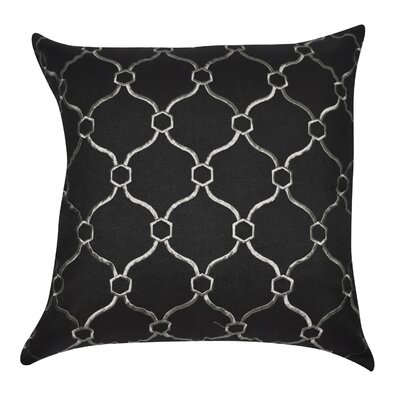 Allsop Decorative Throw Pillow Color: Black and Gray