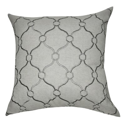 Allsop Decorative Throw Pillow Color: Linen and Dark Gray