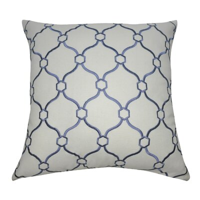 Allsop Decorative Throw Pillow Color: Cream and Blue