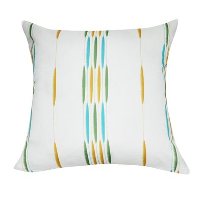 Stripe Decorative I Throw Pillow Color: Dark Green