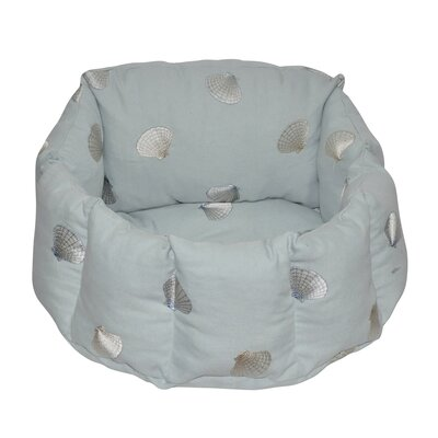 Shell Walled Dog Bed