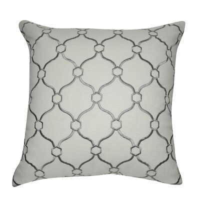 Decorative Throw Pillow Color: Cream and Dark Gray