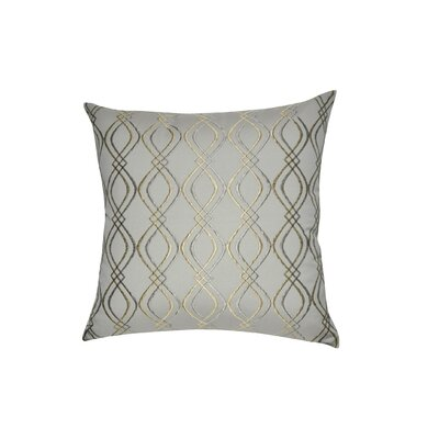 Decorative Cotton Throw Pillow Color: Linen, Taupe and Tan