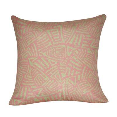 Aztec Decorative Throw Pillow Color: Pink