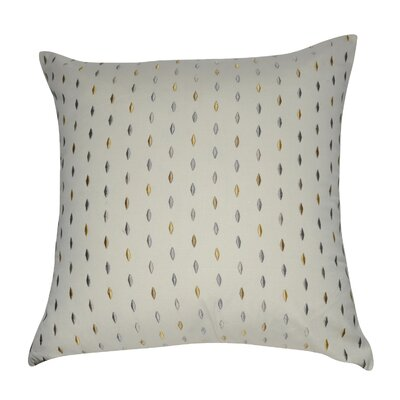 Decorative Cotton Throw Pillow Color: Cream, Gray, Taupe, Steel, Tan and Yellow