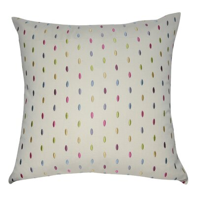 Decorative Cotton Throw Pillow Color: Cream, Purple, Pink, Blue, Teal, Yellow and Green