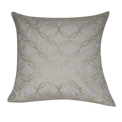 Circles Decorative Throw Pillow Color: Dark Gray
