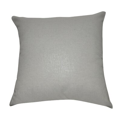Decorative Throw Pillow Color: Cream and Silver
