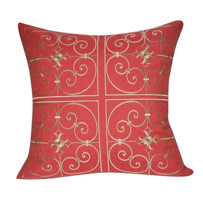 Barrett Throw Pillow Color: Coral