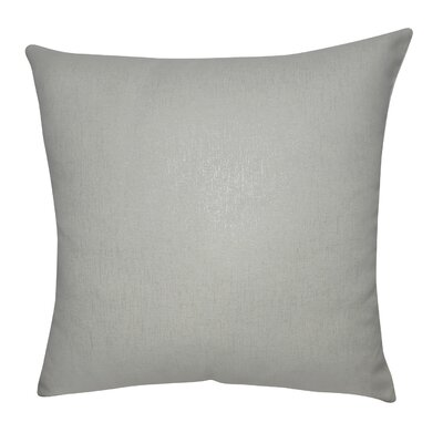 Decorative Throw Pillow Color: Linen and Silver