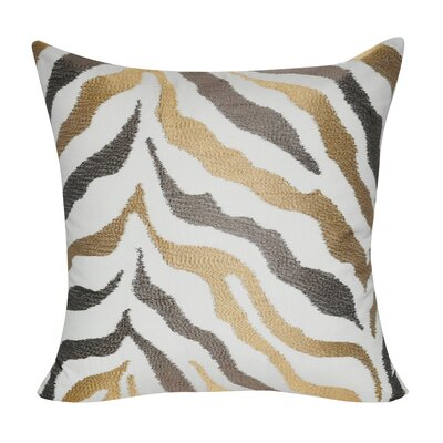 Zebra Decorative Cotton Throw Pillow