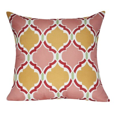 Damask Decorative Throw Pillow Color: Pink