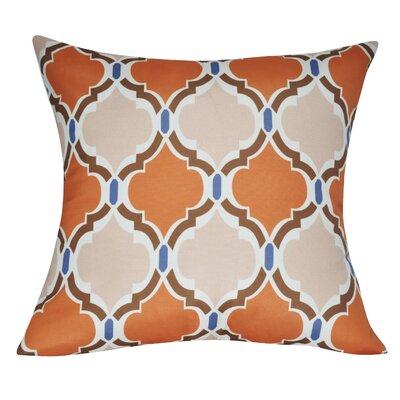 Damask Decorative III Throw Pillow Color: Light Orange P0081A-2121P