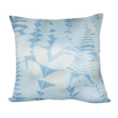 Leaf Decorative I Throw Pillow Color: Light Blue