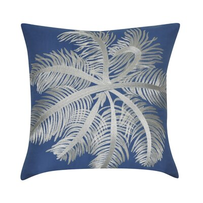 Sea Life Decorative Throw Pillow Color: Blue