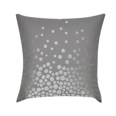 Fading Circles Decorative Throw Pillow Color: Gray