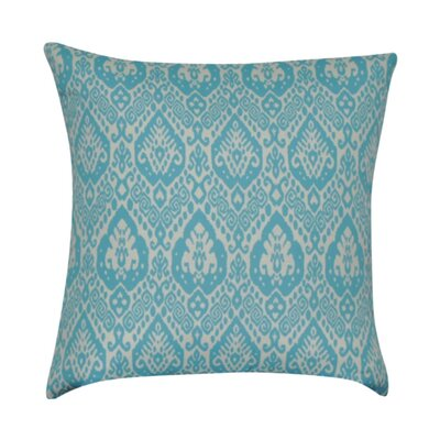 Damask Decorative Throw Pillow Color: Teal