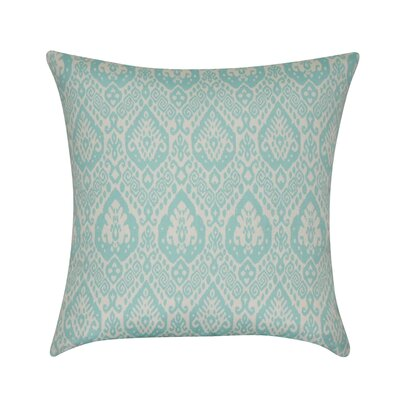 Damask Decorative Throw Pillow Color: Seafoam