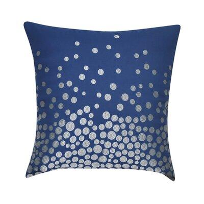 Fading Circles Decorative Throw Pillow Color: Dark Blue