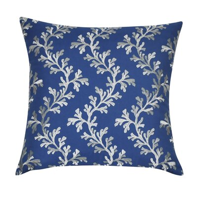 Seaweed Decorative Throw Pillow Color: Blue