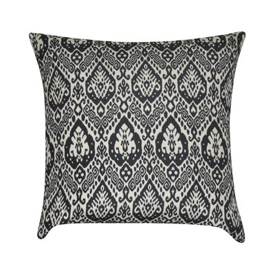 Damask Decorative Throw Pillow Color: Black