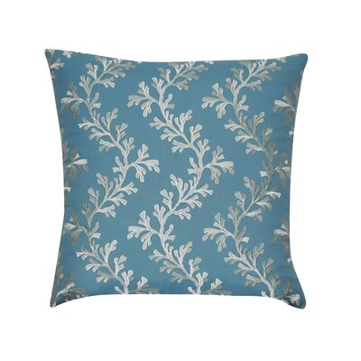Seaweed Decorative Throw Pillow Color: Teal