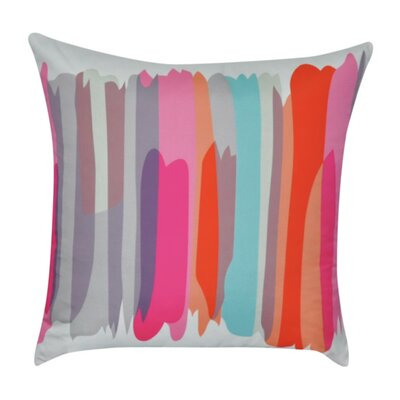 Stripe Decorative 100% Polyester Throw Pillow