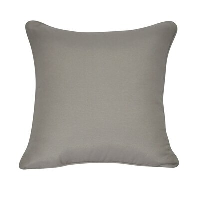 Solid Decorative Throw Pillow Color: Tan