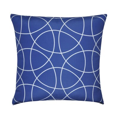 Circles Decorative Throw Pillow