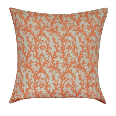 Branches Decorative Throw Pillow Color: Orange