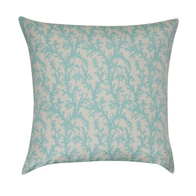 Branches Decorative Throw Pillow Color: Seafoam