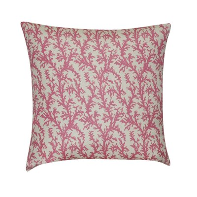 Branches Decorative Throw Pillow Color: Pink