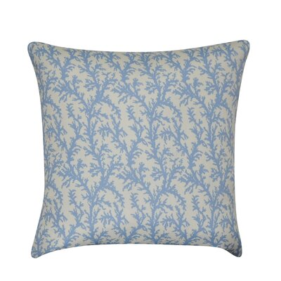 Branches Decorative Throw Pillow Color: Light Blue