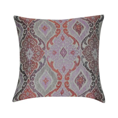 Damask Decorative Throw Pillow Color: Purple