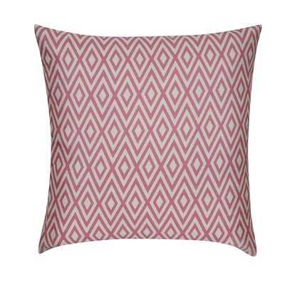 Loom and Mill Diamond Decorative Throw Pillow - Color: Pink