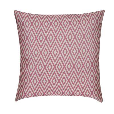 Park Avenue Throw Pillow Color: Pink