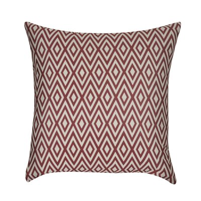 Park Avenue Decorative Throw Pillow Color: Dark Red