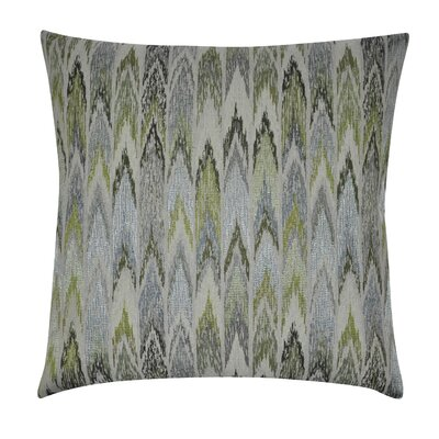 Ikat Decorative Throw Pillow Color: Green