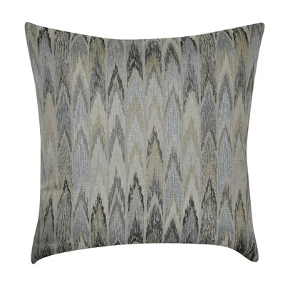 Ikat Decorative Throw Pillow Color: Taupe