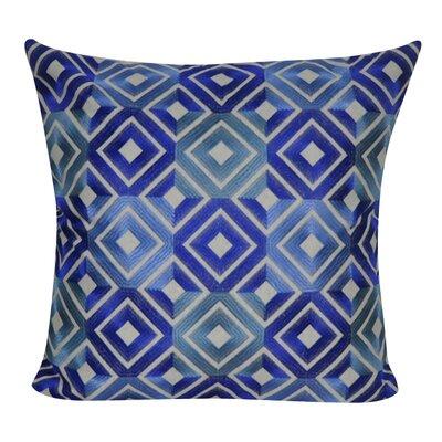 Park Avenue Decorative Throw Pillow Color: Blue